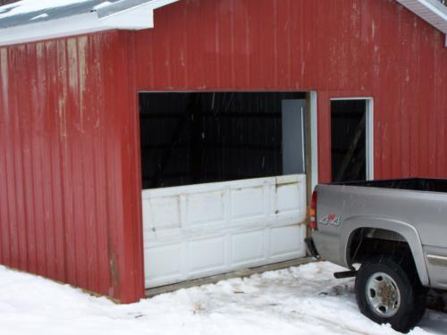 Garage Door Install