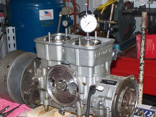 Getting Ready to Time Rotary Valve