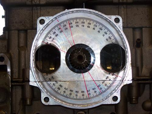 Setting Timing Marks for Rotary Valve