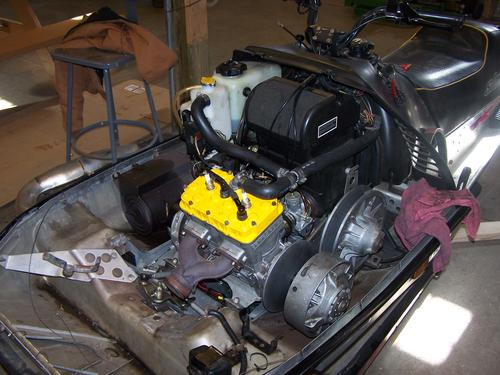 Exhaust Manifold Installed