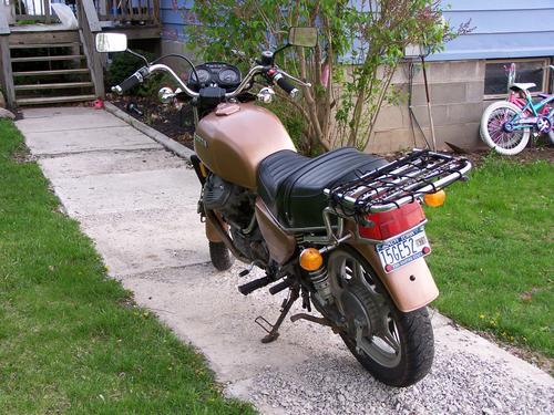 Motorcycle Paint Job