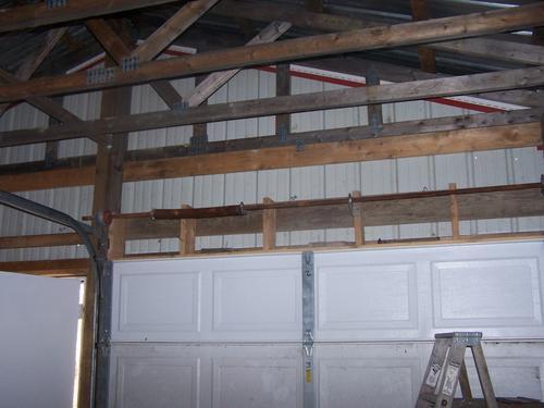 Assembling door lift torsion spring